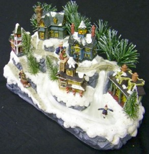 Avon Christmas Village