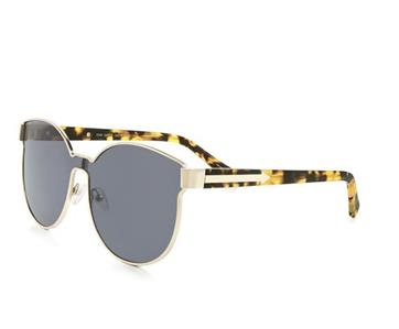 74d2c14c0447 Karen Walker STAR SAILOR Cat Eye Sunglasses Gold-Tortoise Smoke Grey ...