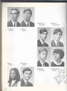 Details about 1968 DANBURY HIGH SCHOOL YEARBOOK, AGGREGATE, DANBURY,  CONNECTICUT