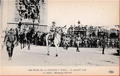 France Fetes De La Victoire Paris WWI 1919 Lot of 7 Real Photo Postcards