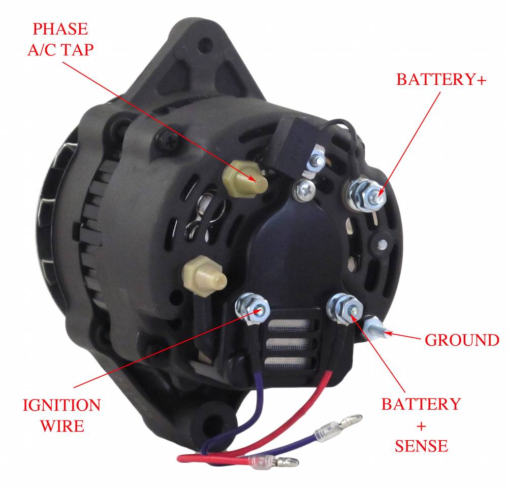 new alternator fits motorola marine inboard  u0026 sterndrive