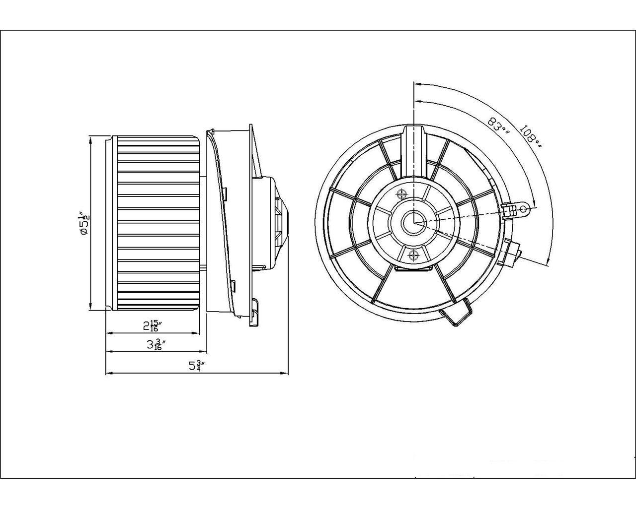 new hvac front blower motor fits 2008 2011 nissan rogue. Black Bedroom Furniture Sets. Home Design Ideas