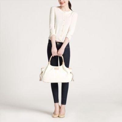 Kate Spade MACDOUGAL ALLEY STEVIE Carribean Leather Handbag $395