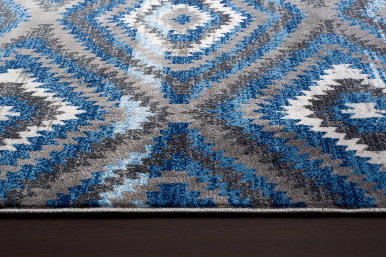 2368 Blue Gray 2x3 5x7 8x10 Area Rug Carpet Ebay