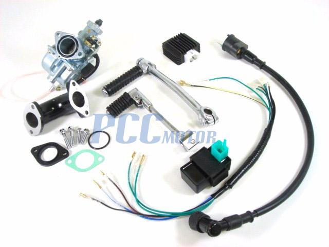 Lifan 140cc Motor 4 Up Lf140 Bo W Oil Cooler Rh Pccmotor 140 Pit Bike Wiring Diagram 125