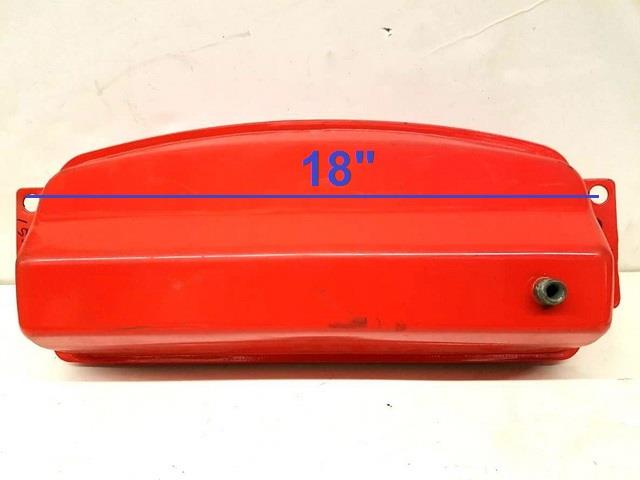 RED Fuel Metal Gas Tank For Go Kart Dune Buggy GT00S