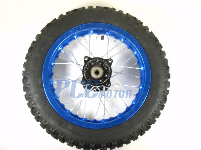 "10/"" BLUE REAR RIM WHEEL DISC BRAKE COOLSTER TAOTAO 125 PIT DIRT BIKE H WM05B"
