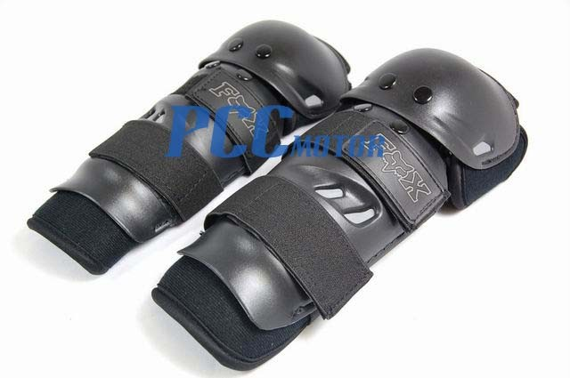 BLACK KNEE//SHIN /& ELBOW GUARD PROTECTOR ONE SIZE H KG01