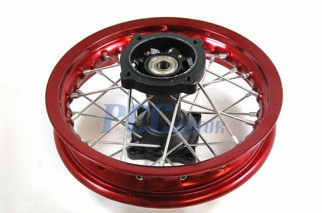 "10/"" FRONT RIM WHEEL DRUM BRAKE XR50 CRF50 STOCK BIKE 12mm M RM01G"