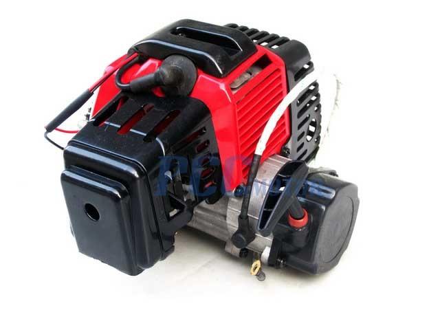 NEW  BLACK COMPLETE ENGINE 49CC 2 STROKE SUPER BIKE ELE H EN04