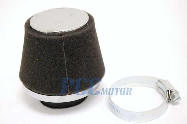 40MM ANGLED AIR FOAM FILTER CARB HONDA SSR SDG 107 110 125 PIT BIKE ATV M AF07