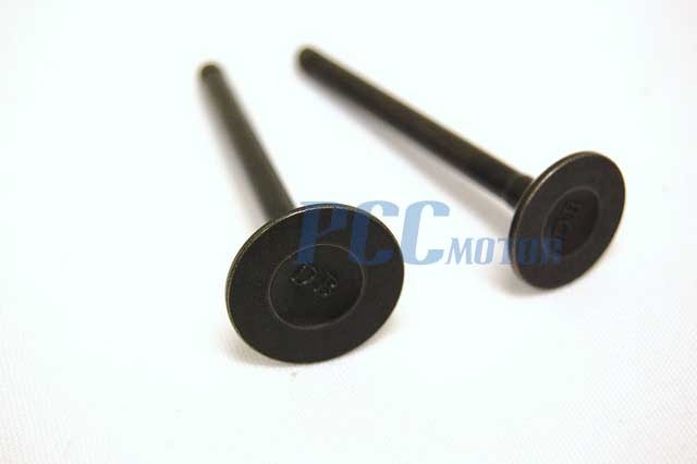 Intake Exhaust Valve for GY6 50cc 139QMB Moped Scooter Engine Roketa M VV07