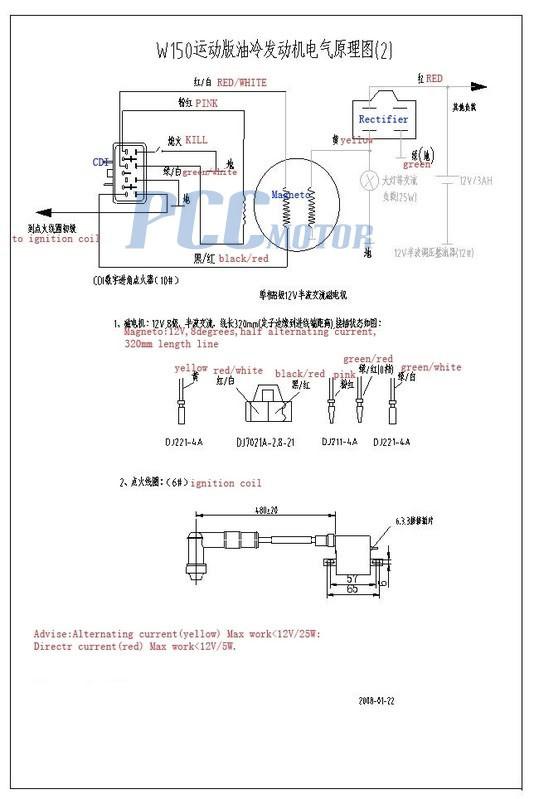 Lifan Wiring Harness   Repair Manual on