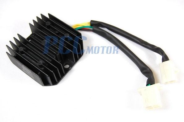 dirt bike voltage regulator wiring diagrams voltage regulator rectifier honda elite ch125 ch150 ch250