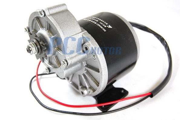 24v 350w Electric Motor W Gear 9t Sprocket 24 Volt 350