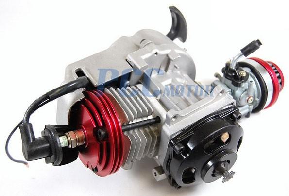49cc 2 stroke big bore engine motor 25h sprocket pocket. Black Bedroom Furniture Sets. Home Design Ideas