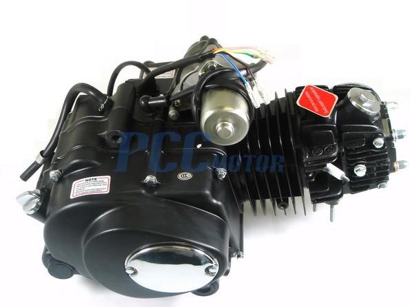 125CC SEMI AUTO ENGINE MOTOR W/ REVERSE ATV QUAD GO KART 3+1