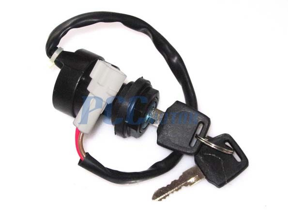 2 wire ignition key switch yamaha atv raptor warrior bruin. Black Bedroom Furniture Sets. Home Design Ideas