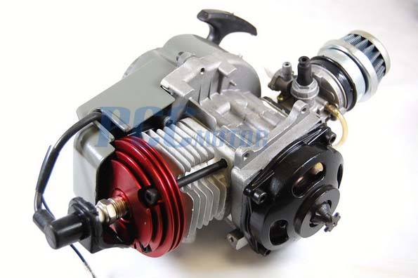 49CC 2-STROKE HIGH PERFORMANCE ENGINE MOTOR POCKET MINI BIKE