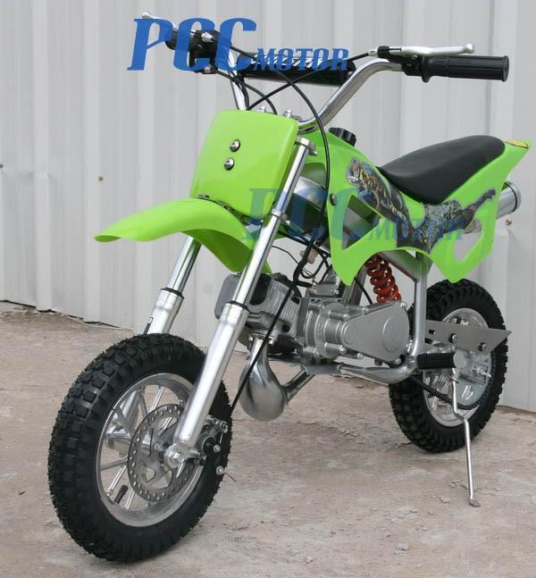 Beginner Green Mini Dirt Bike Gas Power 2 Stroke 49cc 50cc Bike Motorcycle Db49a Ebay