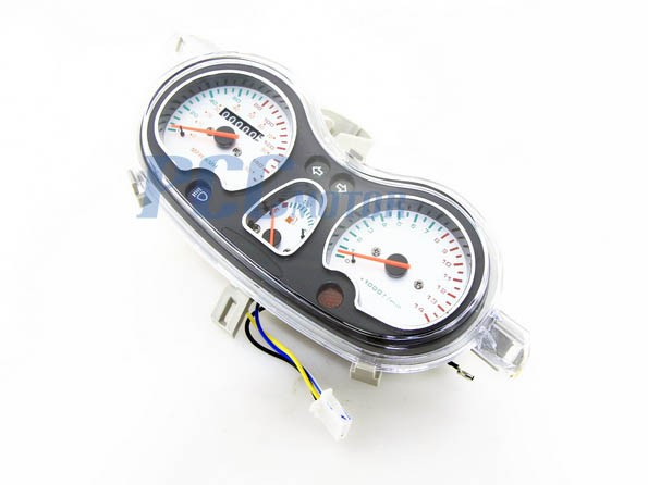 gy6 150cc scooter moped speedometer light gas gauge jonway. Black Bedroom Furniture Sets. Home Design Ideas