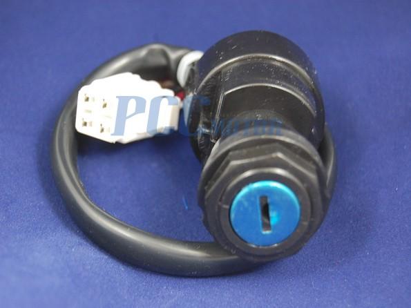 ignition key switch yamaha yfz 450 yfm 400 450 atv 2/ 4wd