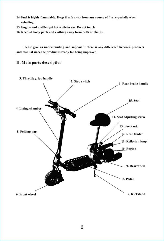 Gas Scooter Diagrams - Wiring Diagram & Cable Management on
