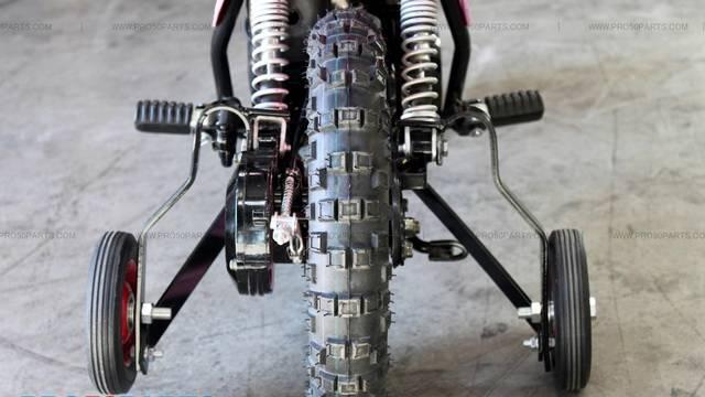 dirt bike wiring diagrams pw50 training wheel #3