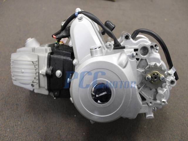 110cc engine motor automatic electric start carb atv pit ... 110 cc engine electric start diagram 110 cc stator cdi wiring diagram