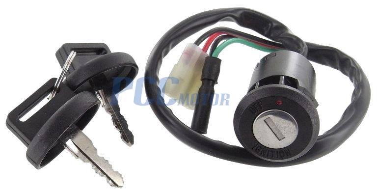 ignition key switch honda 250 trx250te trx250tm trx250ex. Black Bedroom Furniture Sets. Home Design Ideas