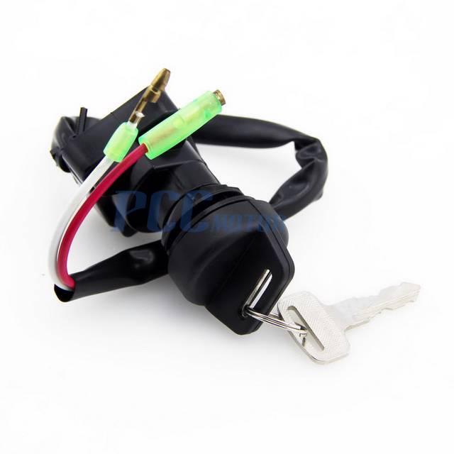 Ignition Key Switch Kawasaki KLF250 Bayou 250 A1 2003 ATV Switch NEW