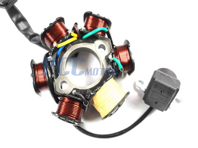 ATV STATOR COIL SCOOTER GO KART GY6 50cc 70cc 90cc 125cc IS05