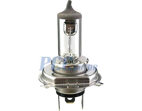 PAIR 12V 35//35W High Low Beam Round Style Bulb Moped GY6 Scooter BA20D I BB06