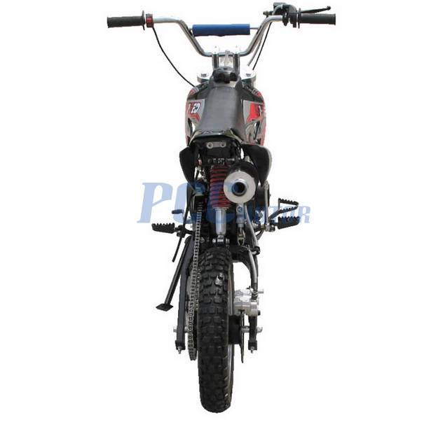 free shipping    coolster dirt bike semi auto 125cc engine