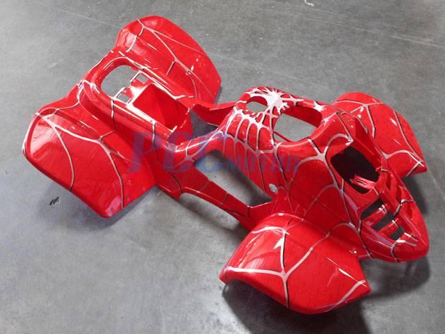 New BODY PLASTIC FENDER 50cc 70cc 90cc 110cc ATV QUAD 3050C Spider Black P APS03