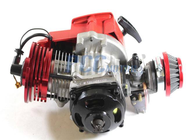 49cc 2 stroke high performance stage 3 engine motor pocket for Air cooled outboard motor kits