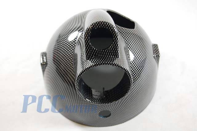Carbon Fiber Color Plastics Light Cover Honda Mini Trail Monkey Z50 50R M LT42