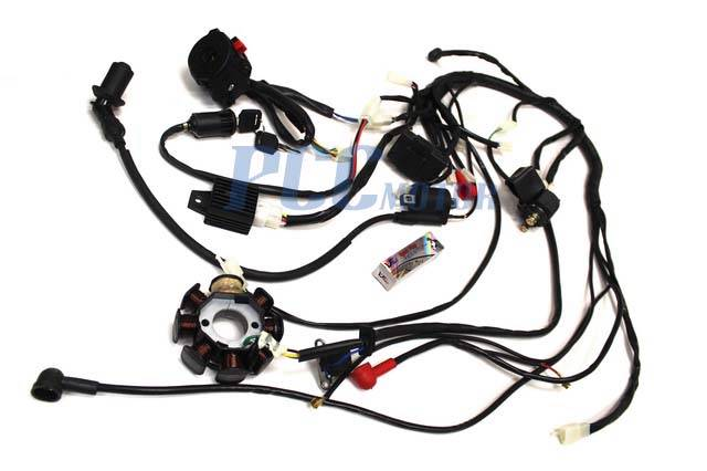 150cc 200cc wire harness wiring cdi assembly atv quad. Black Bedroom Furniture Sets. Home Design Ideas
