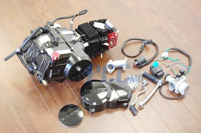 semi auto lifan cc motor engine cnc dress  kit pit