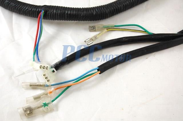 250cc scooter wiring harness huaying diagram 150cc scooter wiring harness chinese gy6 250cc wire harness wiring assembly scooter ...