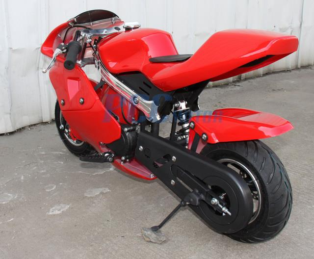 free shipping kids 40cc 4 stroke mini bike gas motor superbike red i db40a auctions buy and. Black Bedroom Furniture Sets. Home Design Ideas