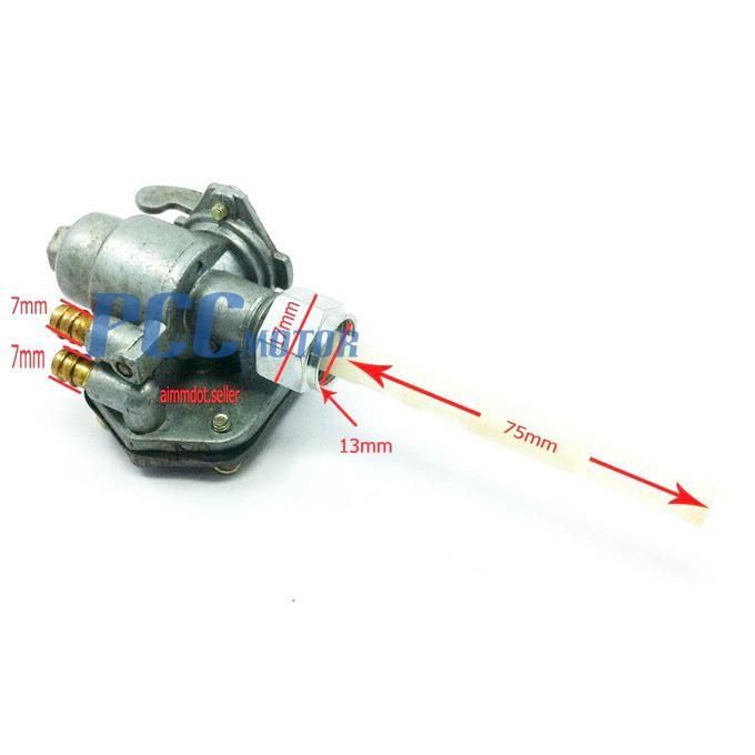 mz360 wiring diagram: fuel gas switch valve petcock yamaha chappy lb50  lb80 y50