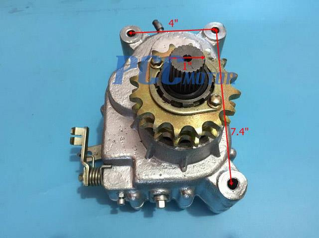 Reverse Gear Box Transmission for GY6 250cc Go Karts Dune Buggy