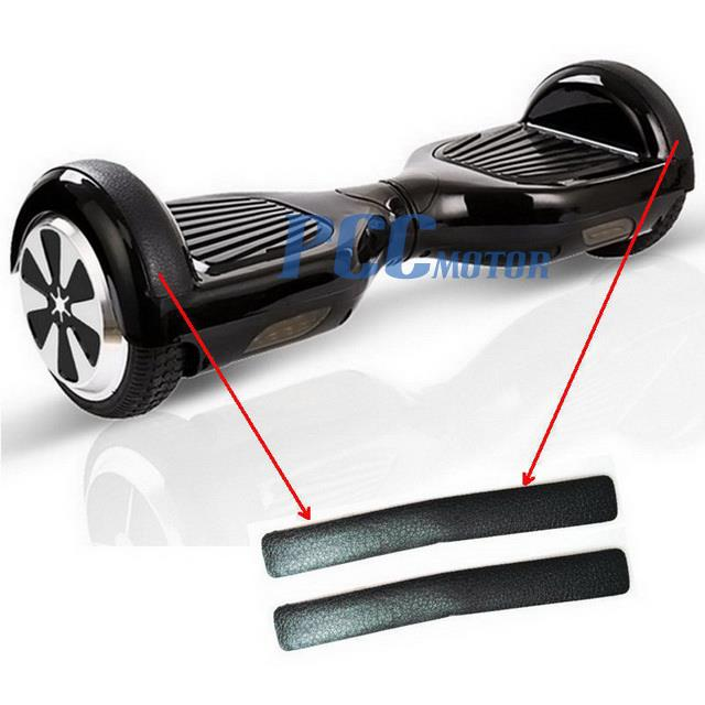 2PCS RUBBER STRIPS FOR SELF BALANCE WHEEL BOARD SCOOTER