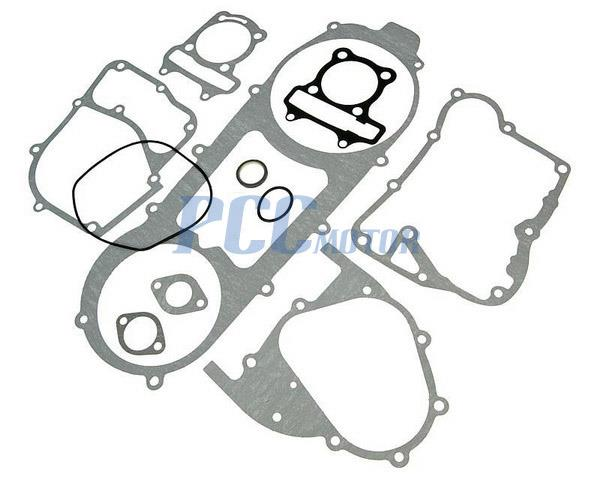 Gasket Engine Moped Scooter Atv Set Gy6 157qmj 150cc Long Case 9