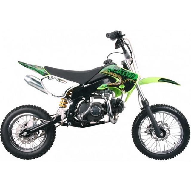 Details about Free Shipping Coolster 214FC New 125cc KLX STYLE Dirt Bike  GREEN