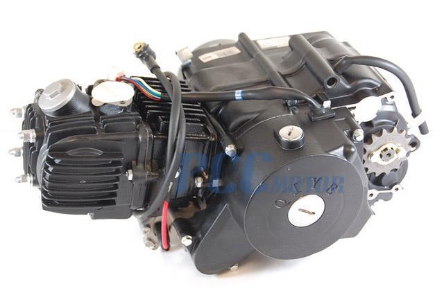 110cc under engine starter motor automatic electric atv. Black Bedroom Furniture Sets. Home Design Ideas