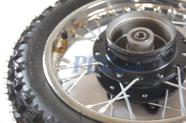 "Honda Crf 80 >> 10"" REAR STEEL RIM WHEEL HUB DRUM BRAKE XR50 CRF XR 50 ..."