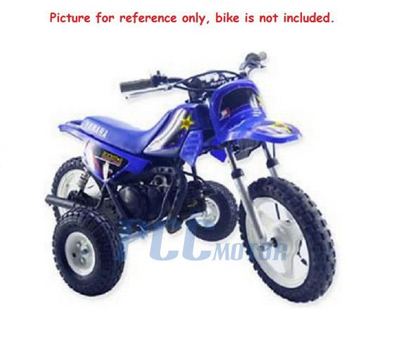 Details about YAMAHA PW50 KIDS YOUTH TRAINING WHEELS pw 50 peewee  motorcycle all years I TW03