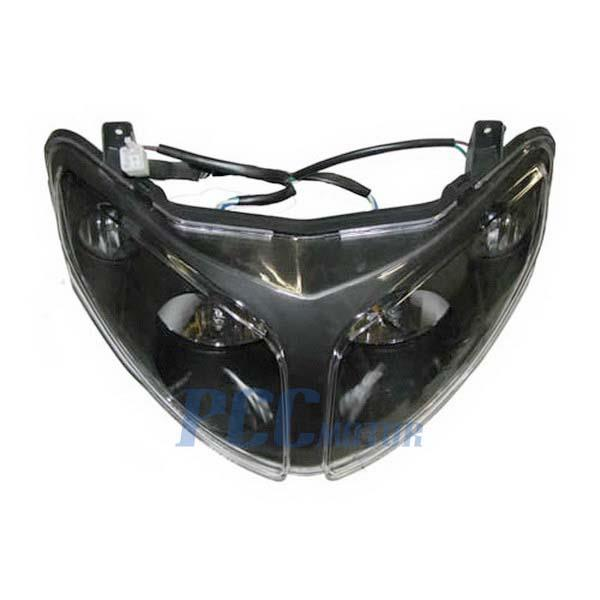 4 wires gy6 scooter moped head light jonway 150cc 150qt 28. Black Bedroom Furniture Sets. Home Design Ideas